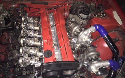Nissan 200sx Silvia RB25 ITB Twin Turbo